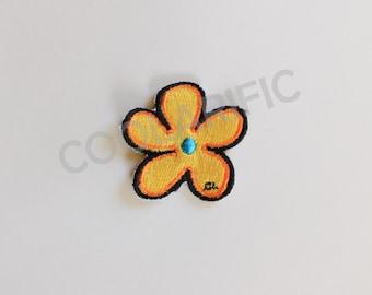 Yellow Flower Sticker Patch