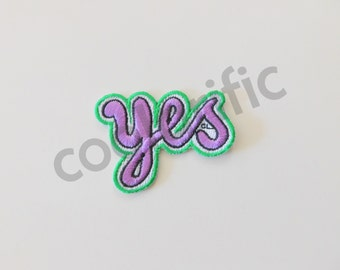 YES Sticker Patch