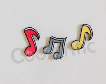 Music Notes Sticker Patch (Sold Individually)