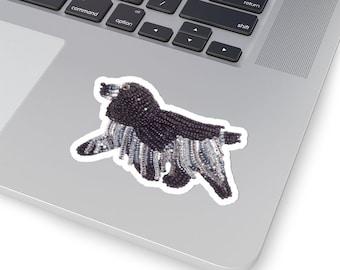 English COCKER SPANIEL- Original Artwork Printed Image Kiss-Cut Dog Stickers- Laptop or Water Bottle Sticker, Animal Stickers- MADE To Order