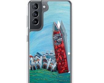 St. Mark's Square- Venice Italy Art Print Printed Image- Samsung Galaxy Case S10, S10+, S10e, S20, S20 U, S21- MADE to ORDER
