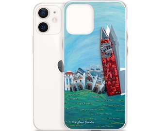St. Mark's Square- Venice Italy Art Print Printed Image iPhone Case- iPhone 12 Pro iPhone 11 iPhone X iPhone 7/ 8 iPhone SE - MADE To ORDER