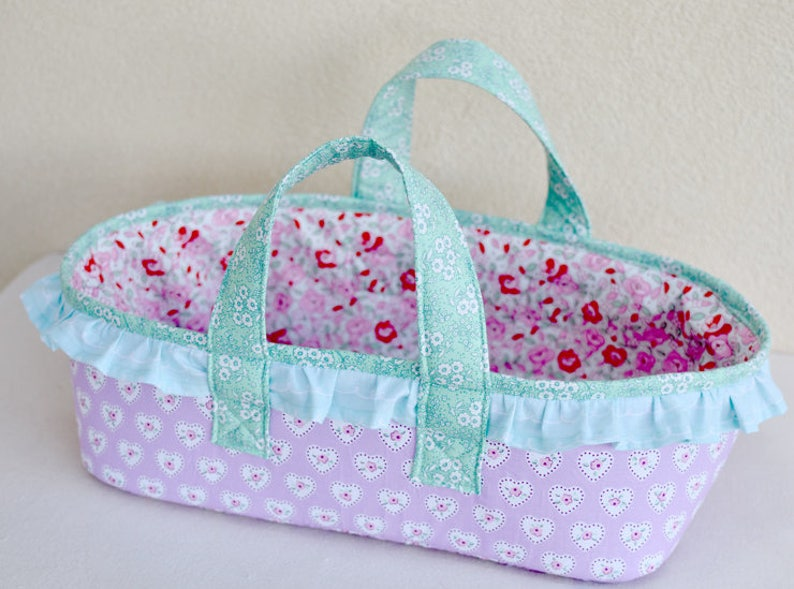 meilleur site web bc959 2e0fd the Rosie baby basket - PDF Sewing Pattern