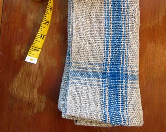 Farmhouse Linen Cloth Napkins, Handwoven and hand-dyed, Set of 6 napkins