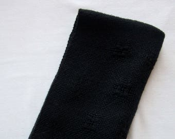 Black Cotton Cloth Napkins