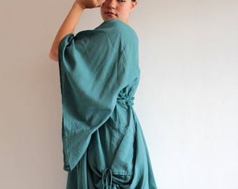 Maxi dress Mixed Silk Maxi Dress (366) (M-L)