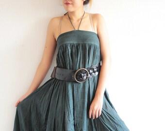 Asymmetric gypsy skirt/dress ... hippie, boho, elegant