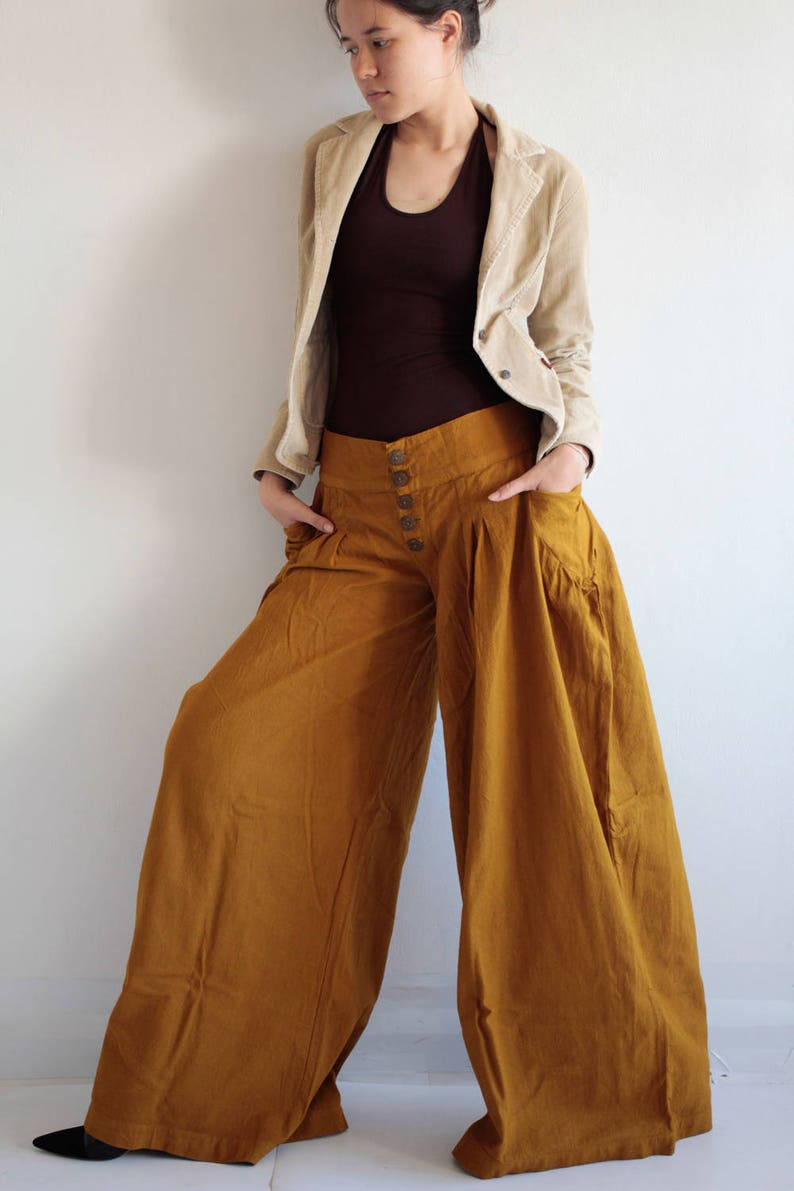 pants/Low waist, wide leg long Pants custom made size and colour, And More  avalible in size S,M,L,XL 1416