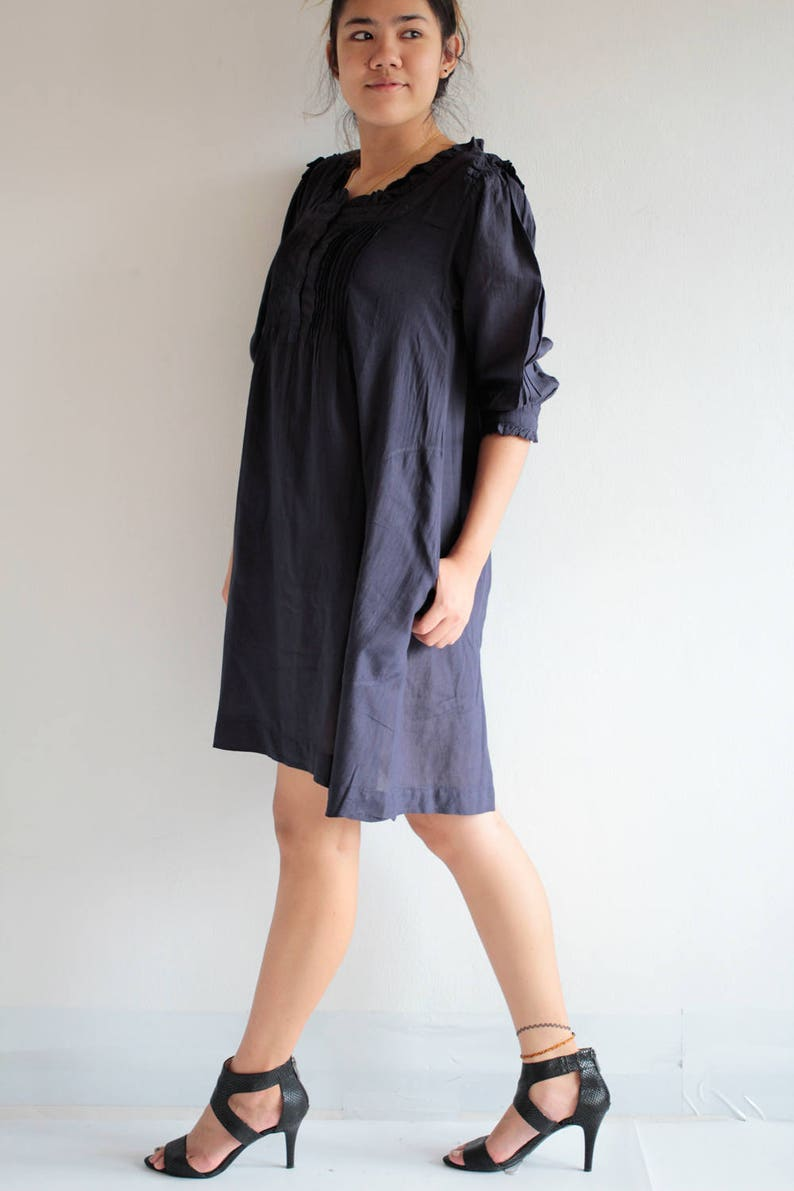 1421 Only L ready to ship Mini dressTunic blouse...