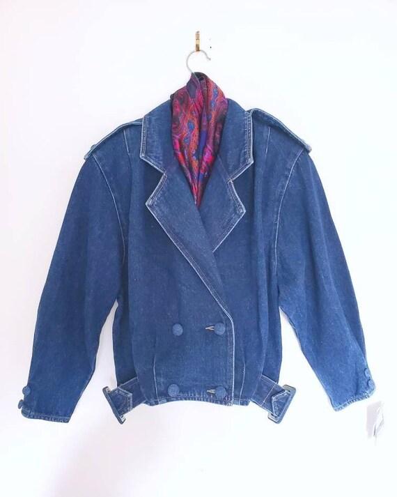 Vintage Denim Jacket. 80's Vintage Denim. Vintage