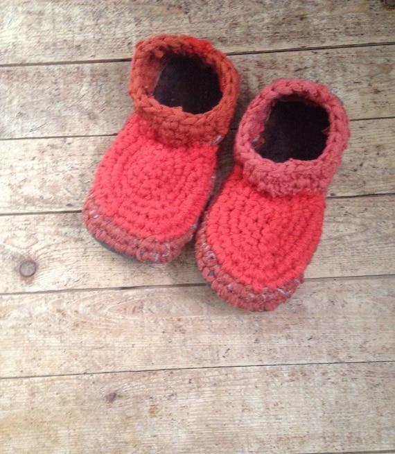 c31c859354b4 Handcrafted Wool   Sheepskin Slippers Mens Womens SNOW GEESE
