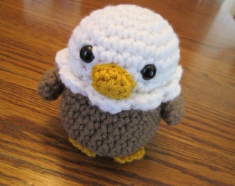 Bald Eagle - Free Amigurumi Crochet Pattern (con immagini ... | 270x340