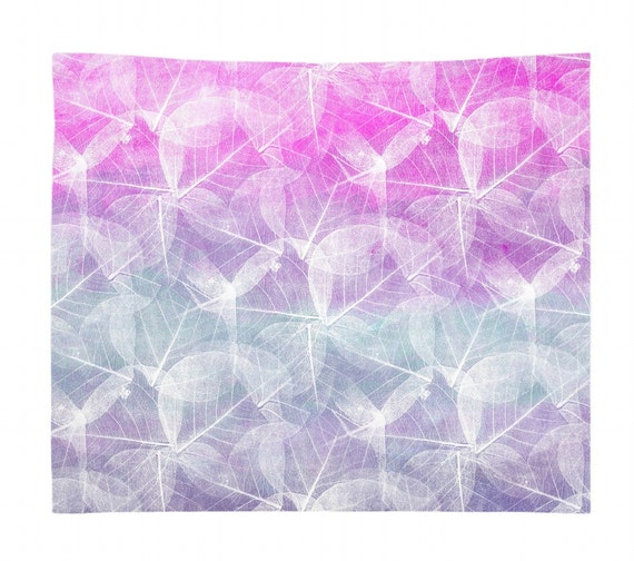 Wall Tapestry Wall Hanging Abstract Tapestry Design 45 Blue Green Pink Purple Modern Home Decor Art L Dumas