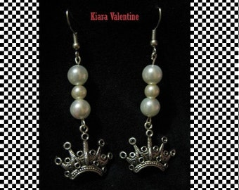 Lolita Save the Queen - Earrings