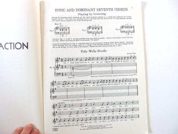 Chords In Action By Dorothy Bishop For Piano Class Theory And Etsy