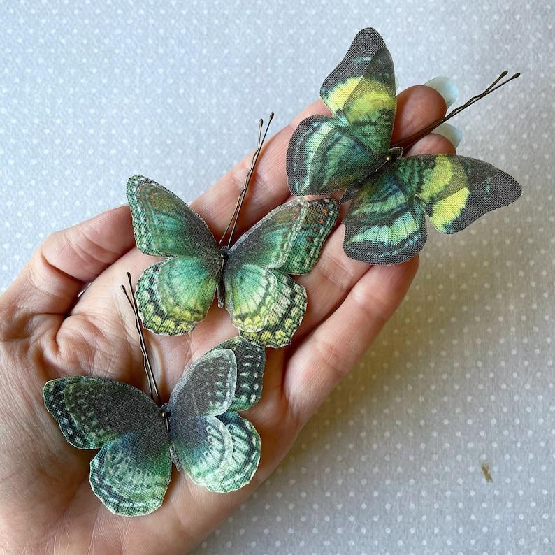 Butterfly Hair Pin Butterfly Hairpin Butterfly Hair image 1