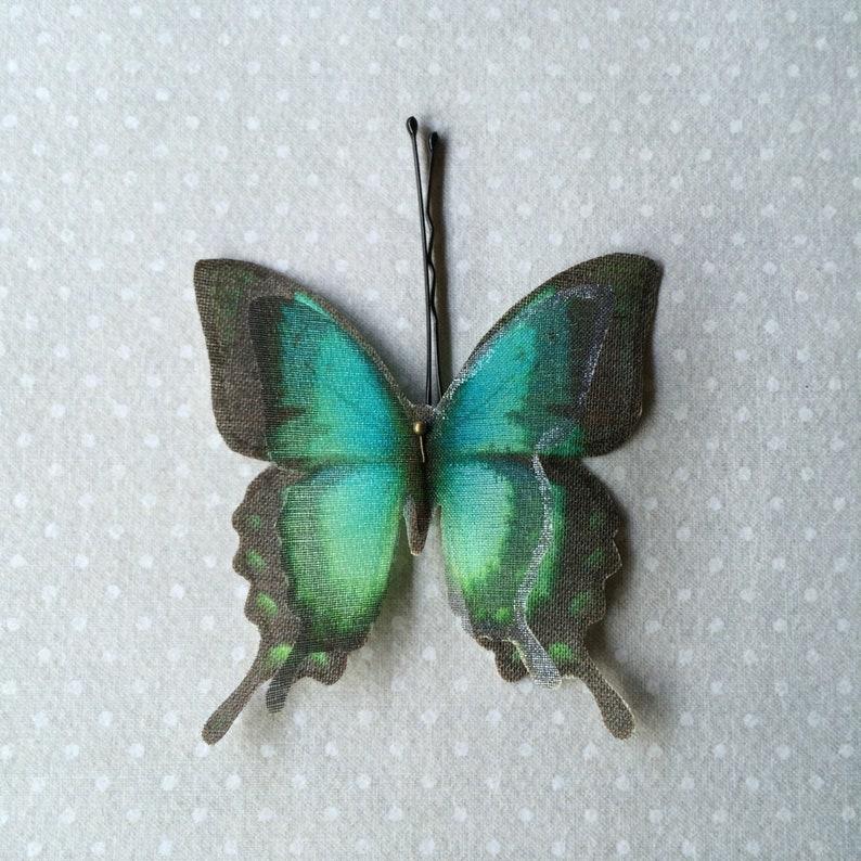 Butterfly Hair Pin Butterfly Hairpin Butterfly Hair image 0