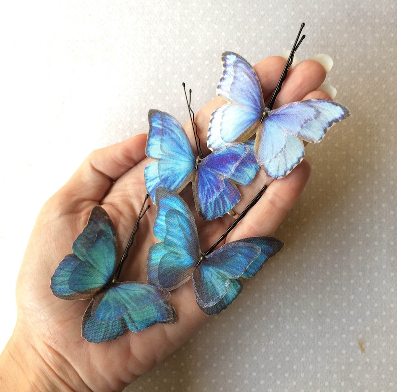 Butterfly Hair Pin Butterfly Hairpin Butterfly Hair image 0