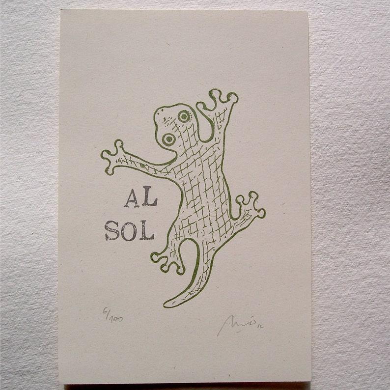 Al sol/ In the sun image 0
