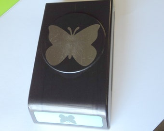 1 Used EK Success Large Butterfly Paper Punch Works Great Paper Crafting Scrap Booking Craft Supplies Takuniquedesigns