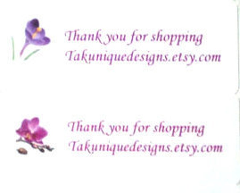 Gift Personalized For Your Shop Picture Choice Thank You 30 Labels,Address Takuniquedesigns