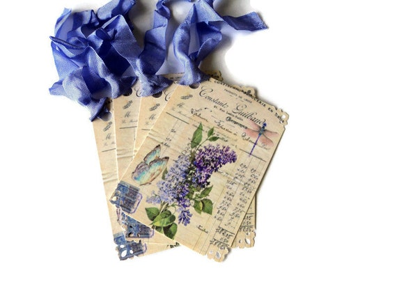 Inspirational Gift Tags Party Favor Tags Merchandise Tags 9 Butterfly Dragonfly Floral May you find.. Takuniquedesigns
