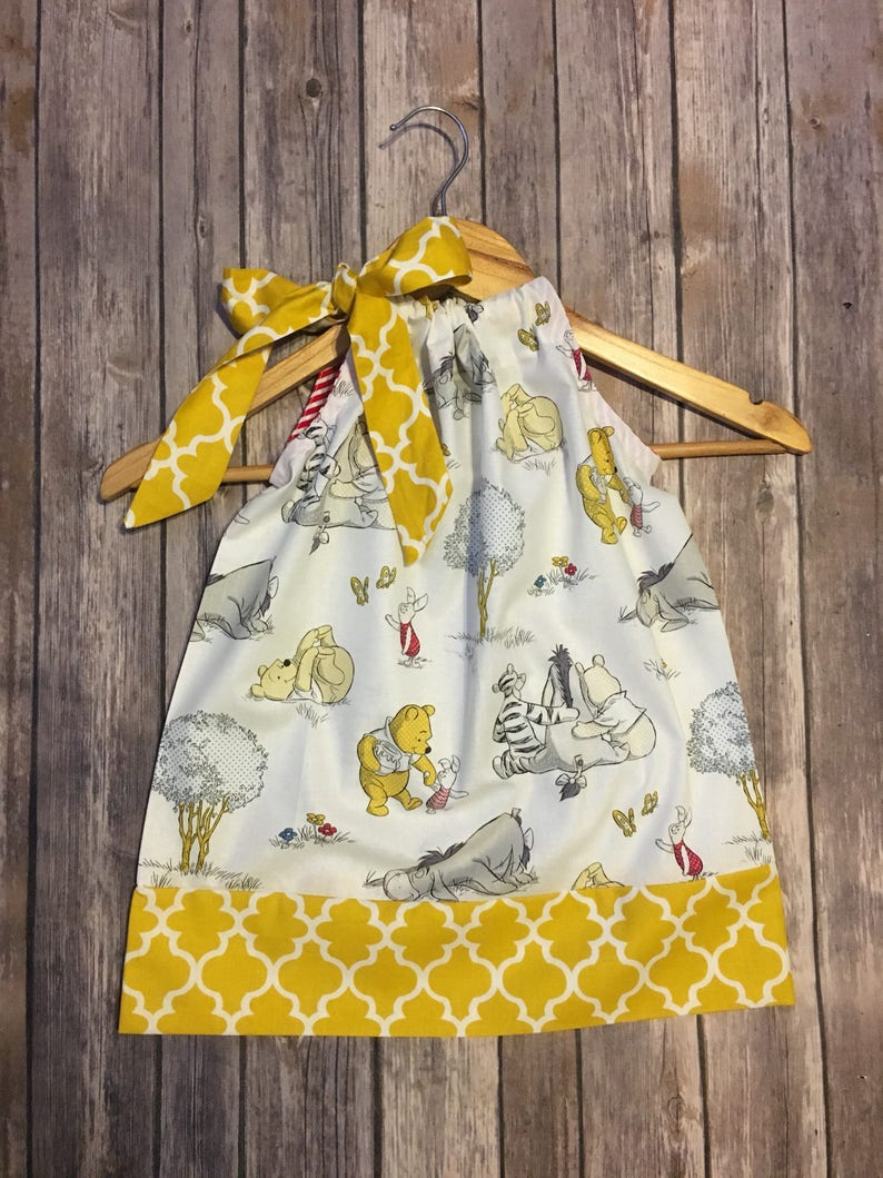 26d947513f44 Winnie the pooh Pooh dress Winnie pooh available in size