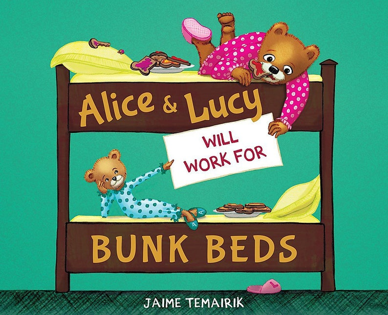 Brand new copy of children's book Alice and Lucy Will image 0