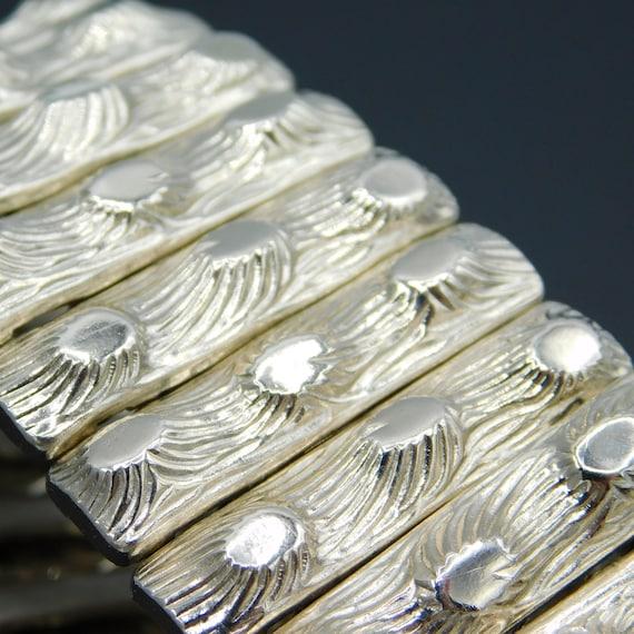 Wide Expansion Bracelet, Vintage Expansion Bracele