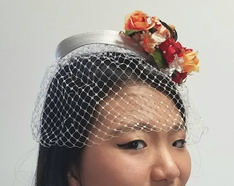 Sweet Floral Ring Headpiece