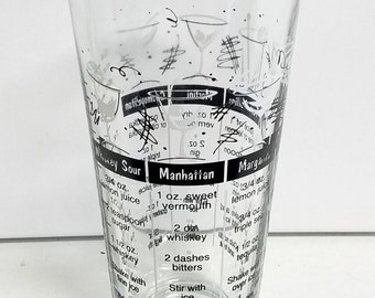 "Signed ""L"" Libbey Cocktail Shaker"