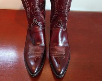 91fd8d6a03d Lucchese cowboy boot   Etsy