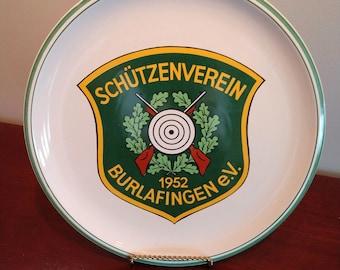 Commemorative German Marksmen's Club Plate (19D)