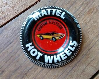Vintage Hot Wheels Collector Pin - Custom Fleetside (19A)