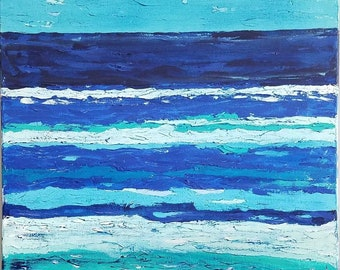 The Sea is Many Shades Of Sky by Theresa Wells Stifel