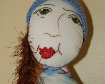 Poppy - Art Doll by Theresa Wells Stifel