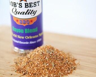 Bayou Blend Spice Rub Bob's Best Quality