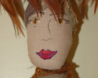 Wings - Art Doll by Theresa Wells Stifel