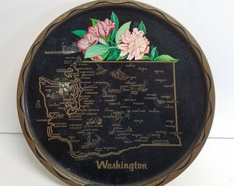 Washington State Souvenir Bar Tray