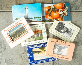 Vintage Lot of Mini Photo Souvenir Sets
