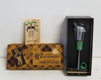 Mr Bartender, a Vintage Jigger from the Modern Sales Company