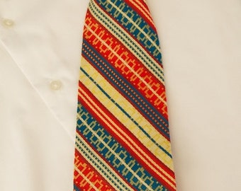 Super 70s Clip On Tie