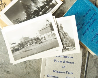 Vintage Souvenir Miniature View Albums From Canada