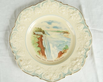 Vintage Prospect Point Niagara Falls Souvenir Plate by Ducal