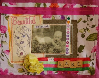 Beautiful, Beloved Babe - 8 by 10 inch Print