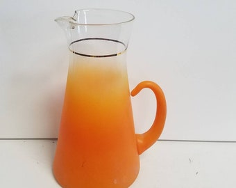 Orange Blendo 60's Pitcher