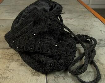 Vintage Corde' Back Pack Purse