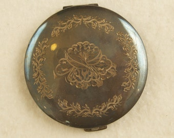 Vintage Sterling Silver Compact