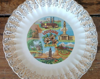 Commemorative State of Louisiana Plate (19C)