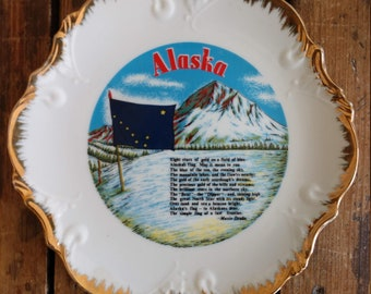 Commemorative Alaska Plate (19B)